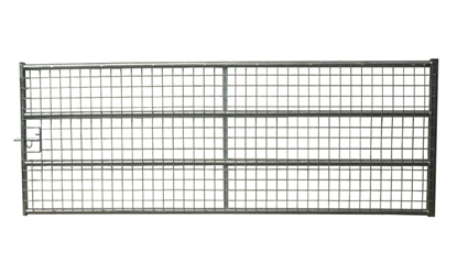 Picture of 14' Fully Meshed Galv Gate