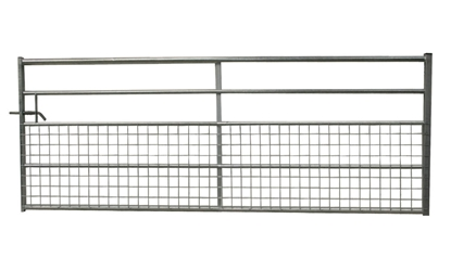 Picture of 10' Half Meshed Galv Gate