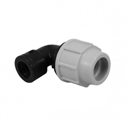 """Picture of 20mm x 1/2"""" Elbow-Female Offtake"""