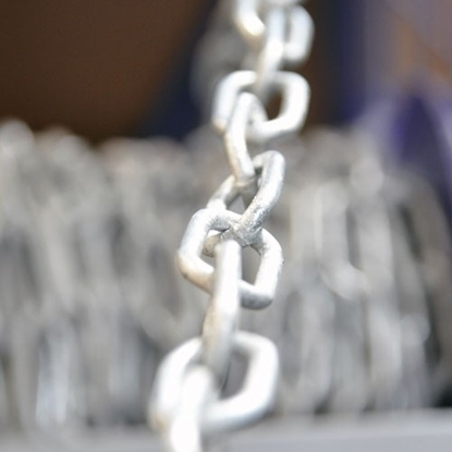 Picture of 6mm Long Link Galv Chain �/mtr