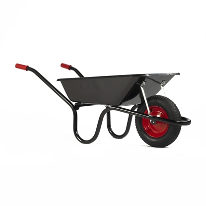 Picture of Black Navvy 85Ltr Wheel Barrow Pneumatic Tyre