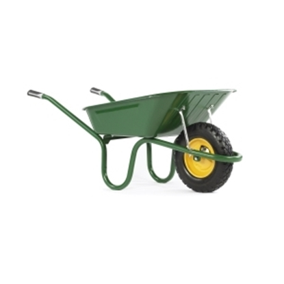 Picture of Original Green 90Ltr Wheel Barrow Puncture Free
