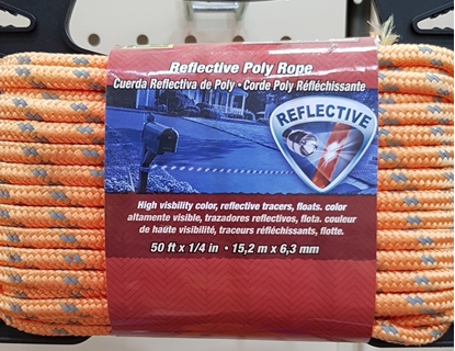 Picture of 15mtrs 6mm Reflective Poly Rope