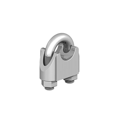 Picture of BZP 8mm Wire Rope Grips (2pp)