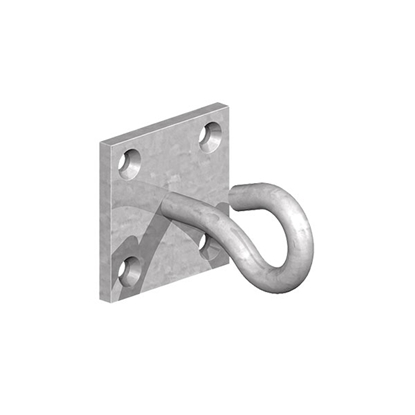 Picture of GALV 50x50mm Hooks on Plate (2pp)