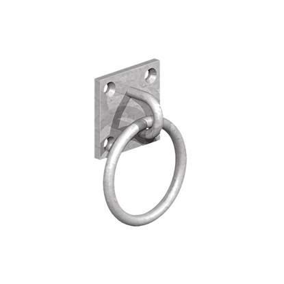Picture of GALV 50x50mm Ring on Plate