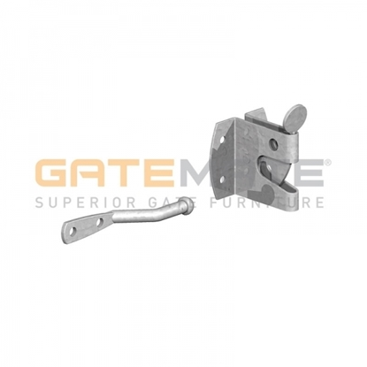 Picture of GALV Large Auto Gate Catch for Garden Gates