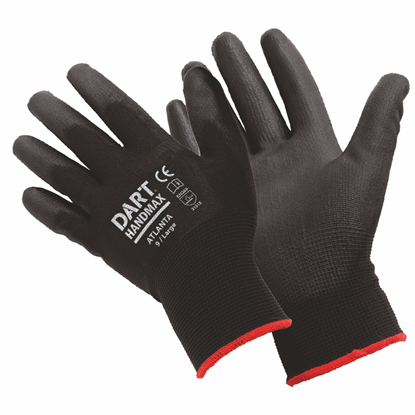 Picture of Handmax Black PU Glove Size L