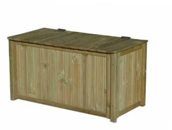 Picture of Fineshade Log Chest 1.2m x 0.6m x 0.86m