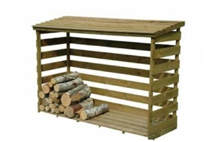 Picture of Fineshade Log Store 1.8m x 0.79m x 1.3m