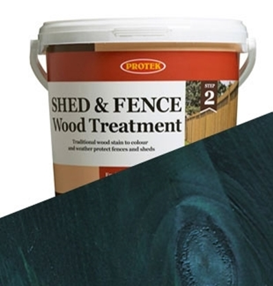 Picture of 5ltr  Dark Blue Shed & Fence