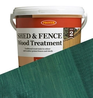 Picture of 5ltr  Dark Green Shed & Fence