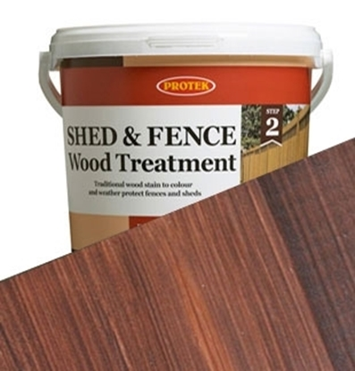 Picture of 5ltr  Rosewood Shed & Fence