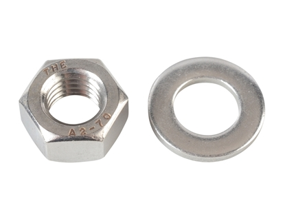 Picture of M10 Nut & Washer (10pp)