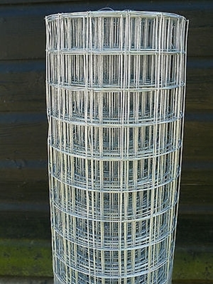 Picture of 25mtrs x 50mm x 50mm x 2.5mm Galv Weld Mesh