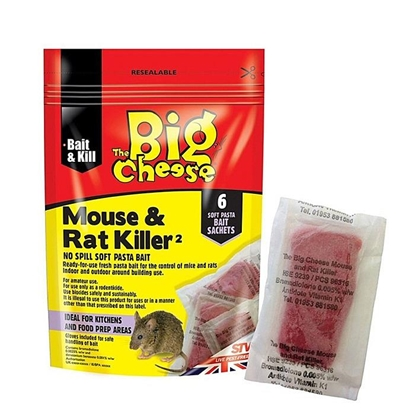 Picture of Mouse & Rat Killer Pasta Sachets - 6 Pack