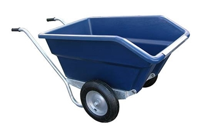 Picture of 250L JFC Tipping Wheel Barrow Blue