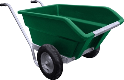 Picture of 250L JFC Tipping Wheel Barrow Green
