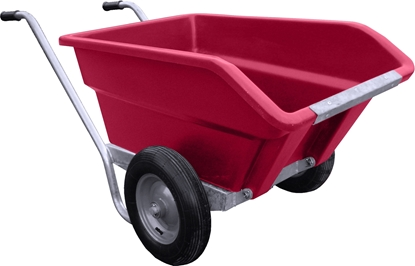 Picture of 250L JFC Tipping Wheel Barrow Pink