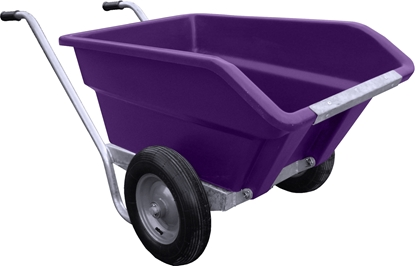 Picture of 250L JFC Tipping Wheel Barrow Purple