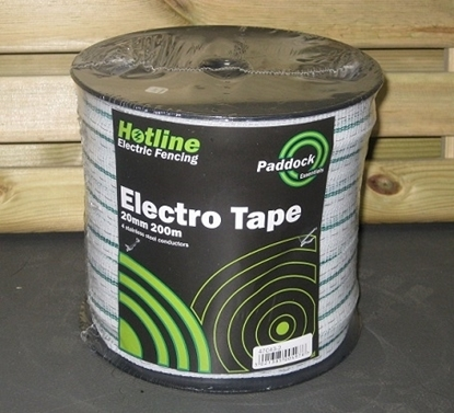 Picture of 200mts x 20mm White Paddock Tape