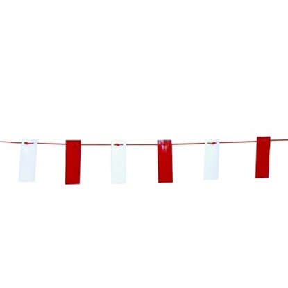 Picture of 26mtrs Red & White Marker Bunting