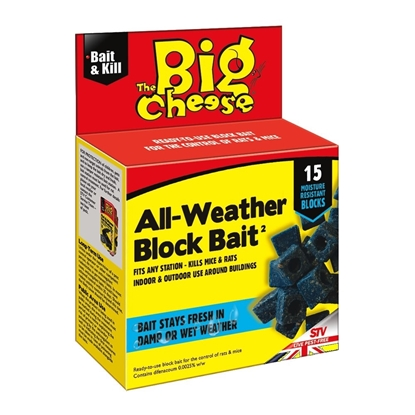 Picture of All-Weather Block Bait - 15 x 10g
