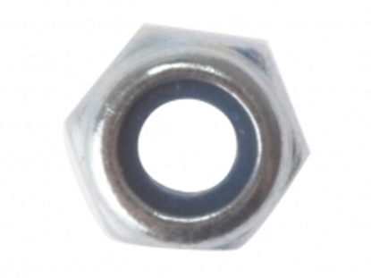 Picture of M8 Nut & Nylon Insert & Washer (12pp)