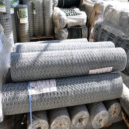 Picture of 50m x 31mm x 18g Galv Rabbit Net