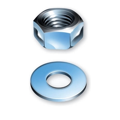Picture of Sitemate BZP Nuts & Washers