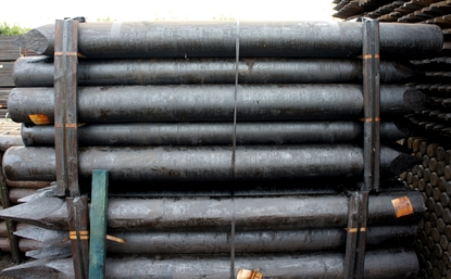 Picture of SP 2.4m x 200mm Creosoted Machine Round ptd